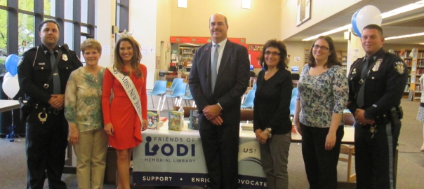 Friends of the Lodi Memorial Library Welcome Miss New Jersey Lindsey Giannini
