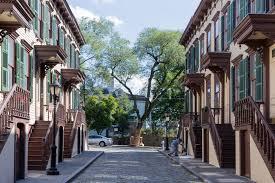 Sylvan Terrace and Morris-Jumel Mansion