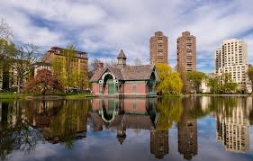 The Harlem Meer in Central Park