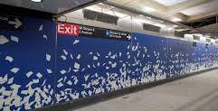Q Subway Art