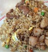 Ten ingredient fried rice