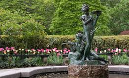 The Central Park Conservatory Gardens