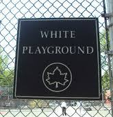 White Playground in East Harlem