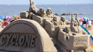 Coney Island Sandcastle Building Contest