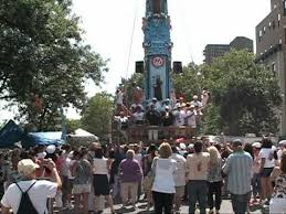 Dancing of the Giglio East Harlem