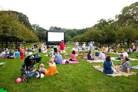 Movie Night at the Brooklyn Botanical Gardens