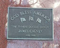 James Cagney Plaque