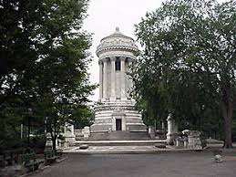 The Soldier and Sailors Monument on the Upper West Side