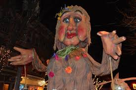 "Mother Nature Float ""Big Mama"" at the Sinterklaas Parade"