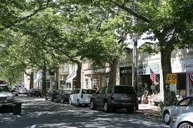 Small Downtown in the Hamptons