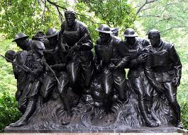 107 Infantry Sculpture