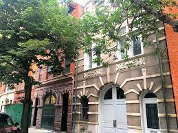 Carriage houses on East 72nd Street