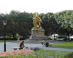 The General Sherman Statue at the Grand Plaza