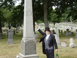 Ridgewood Cemetery tour I