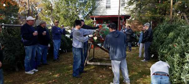 Hasbrouck Heights Men's Association Christmas Tree Stand