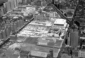 Lincoln Center built