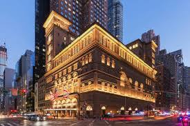 Carnegie Hall at Christmas time