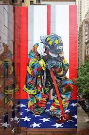 Fire Fighter Painting