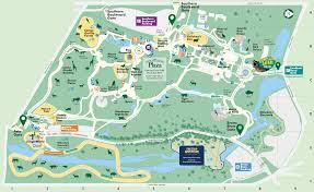 Bronx Zoo Map