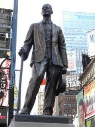 George M.Cohan Statue