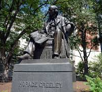 Horace Greeley Statue