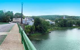 Narrowsburg, NY by the Delaware River