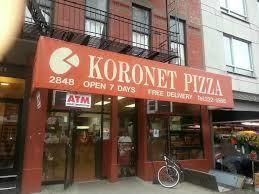 Koronet Pizza on Broadway