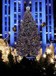 Rockefeller Christmas tree 2019
