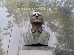 Robert Wagner Sr. Statue