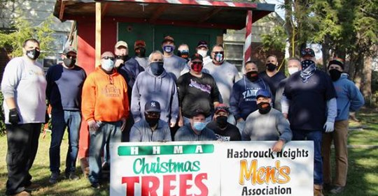 Hasbrouck Heights Men's Association Xmas Tree Sales VI