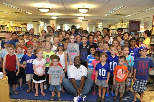 Kevin Boothe at the Hasbrouck Heights Library
