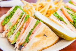 The Turkey Club Sandwich at Pete's Famous