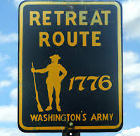 Washington Retreat Sign