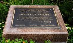 Bayard Rustin Plaque