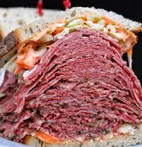 Pastrami Sandwich at Sarges