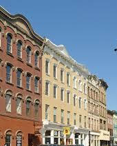 The cast iron buildings of Downtown Poughkeepsie