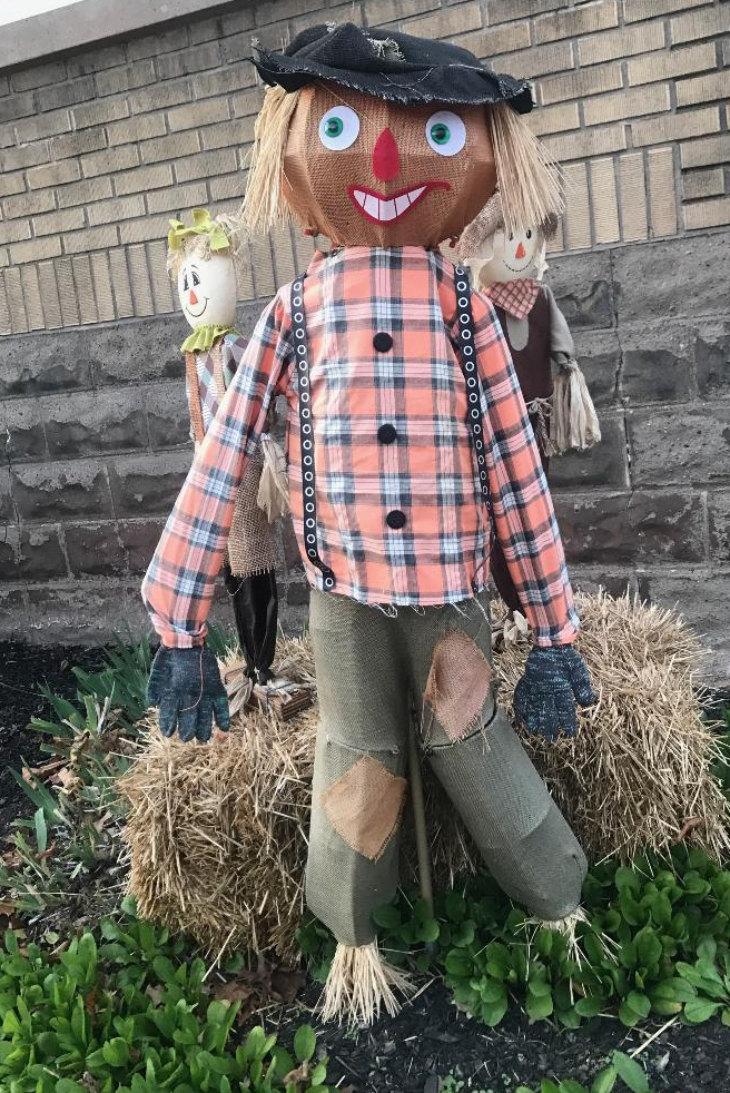 Giggles the Scarecrow