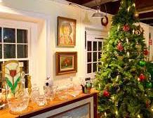 Christmas at Abram Demaree Homestead