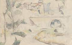 Cezanne Drawing Exhibition