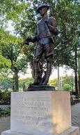Dewitt Clinton Park statue