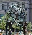 World Wide Plaza Fountain