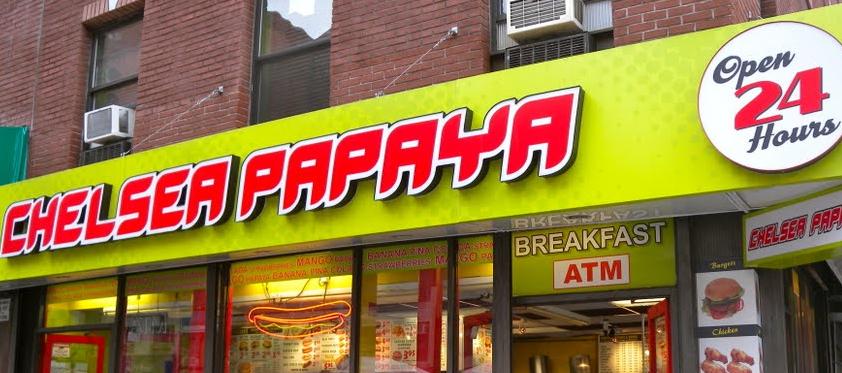 Chelsea Papaya - New York - Menu & Hours - Order Delivery (5% off)